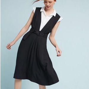 Maeve | Black Bryony Apron Style Dress